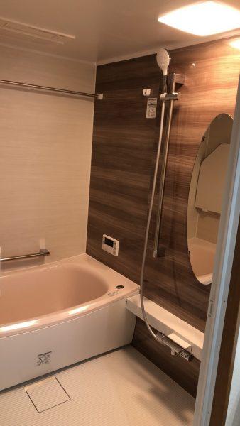 千葉市のマンションの内装工事と水廻り工事させていただきました。