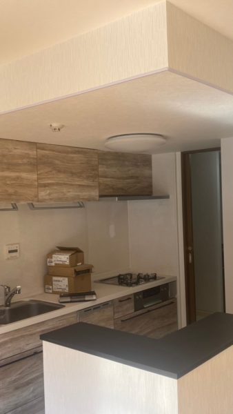 印西市マンションの内装工事と水廻り工事させていただきました。