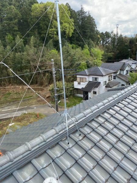 富里市屋根工事をさせていただきました。
