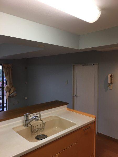 越谷のマンションのハウスクリーニング&ベランダ高圧洗浄をさせていただきました。
