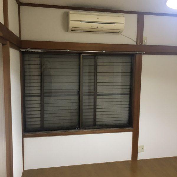 千葉市戸建の和室の壁クロス張替えと床をフローリングにする工事をさせていただきました。