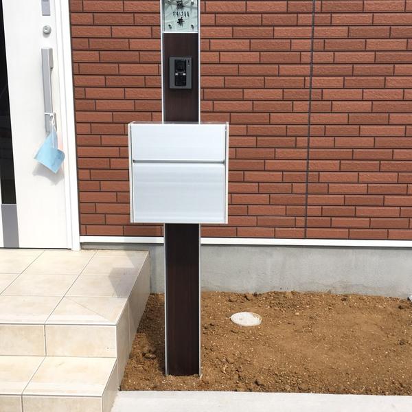 成田市戸建の外構工事をさせていただきました。