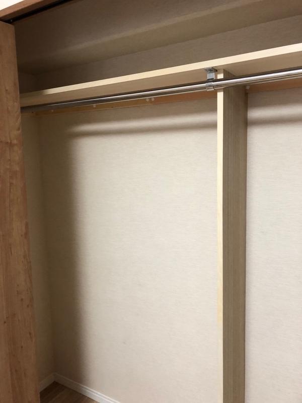 美浜区のマンションでクローゼット造作工事をさせていただきました。